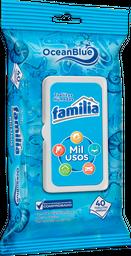 Familia Ocean Blue Toallitas Húmedas Mil Usos