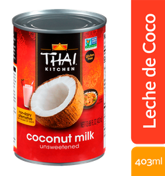 Thai Kitchen Leche de Coco Sin Azucar 13.66 Fl Oz