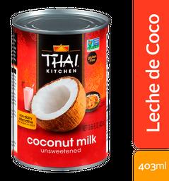 Leche De Coco Sin Azucar Thai Kitchen 13.66 Fl Oz