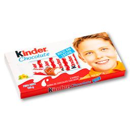 Barra De Chocolate Kinder