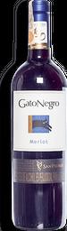 Vino Merlot Gato Negro 750ML