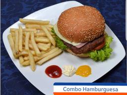 Combo Hamburguea Doble Carne