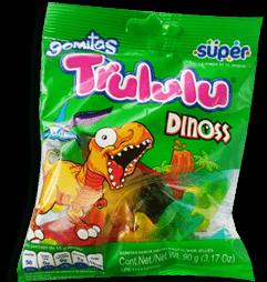 Trululu Gomitas Dinoss Super
