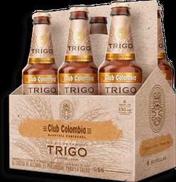 Cerveza Trigo Botella Club Colombia 6UN