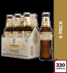 Cerveza Club Colombia Trigo - Botella 330ml x6