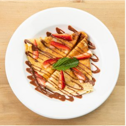 Crepe con Spread de Chocolate