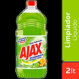 Ajax Limp Bicarb Naranja Limon