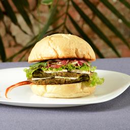 Hamburguesa doble veggy no meat