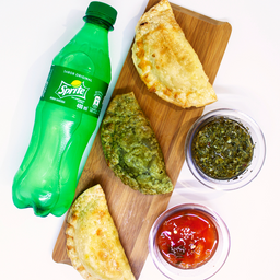 🥟🥤 Súper combo 3 empanadas + coca cola 🥟🥤