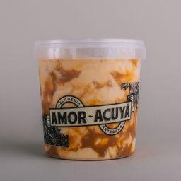 Caramelo salado en pote