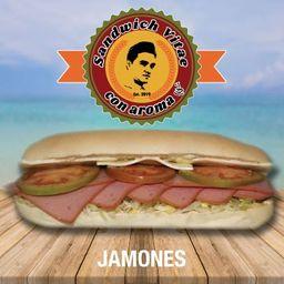 Sándwich Vitae Jamones