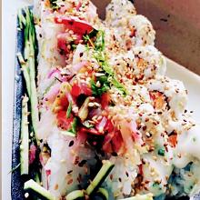 Sushi Ceviche Roll