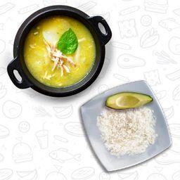 Sopa, Arroz & Aguacate