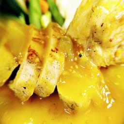 Pollo mostaza y miel