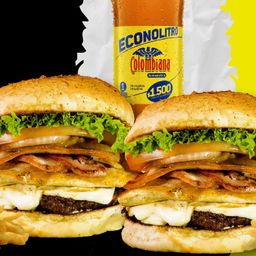 Combo burger combi