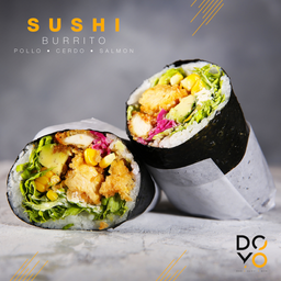 Sushi Burrito Pollo