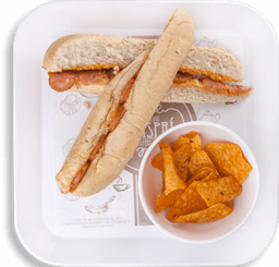 Sandwich de Chorizo Paisa