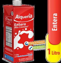 Leche Entera Alqueria X 1000 Ml