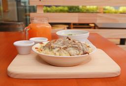 Bowl Carnívoro Mediano (Carne de  Res Desmechada y Pollo)