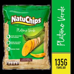 Natuchips Plátano Verde Familiar