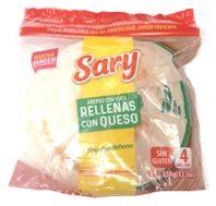 Arepa rellena de queso Sary