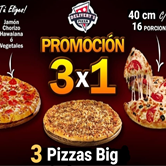 3x1 Pizza Big
