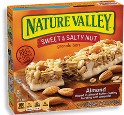 Nature Valley Barras de Cereal de Almendras