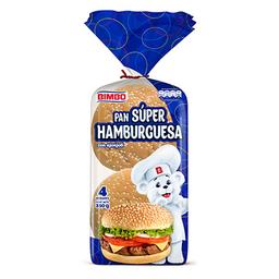Pan Bimbo Super Hamburguesa