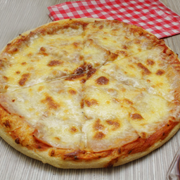 Pizza Jamón y Queso Grande