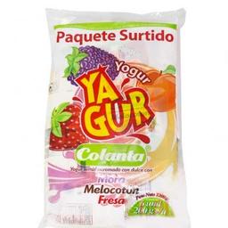 Yogurt Semidescremado Mora Fresa Colanta