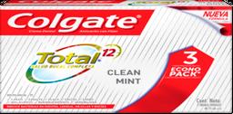 CD COLGATE Tot Cln Mnt Paq 3x75ml