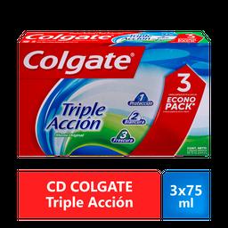 CD COLGATE TrAcc Paq 3x75ml
