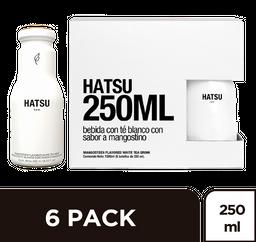 Té Hatsu Blanco SixPack x 250 ml