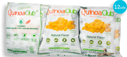 Paca Snack Quinuaclub Sabor Natural 12G