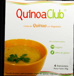 Crema De Quinua Y Vegetales Sin Gluten (Caja) 55 G