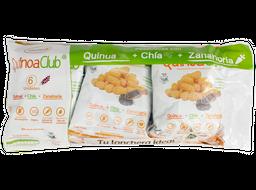 Paca Snack Zanahoria Quinoaclub Con Chia Y Zanahoria 12 G