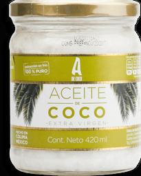 Aceite De Coco Virgen 420 Ml