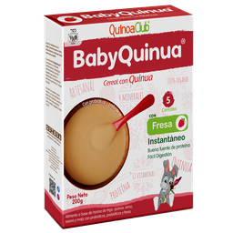 Baby Quinua Fresa 200 G