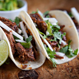 Tacos enchilados