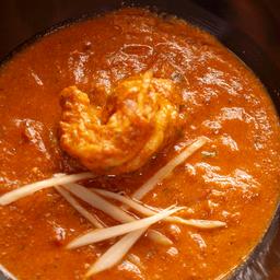 Masala Prawn Curry (Curry Tradicional de Langostinos)