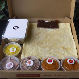 (Hawaiana Caramelo) Box para preparar en casa