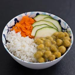 Bowl Garbanzos al Curry