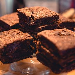Brownie de PAO con Helado