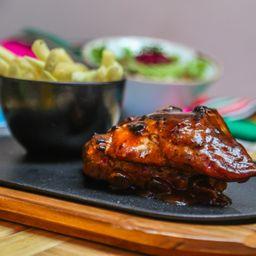 Costilla en BBQ de Chiles