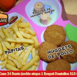 Combo 2 nuggets