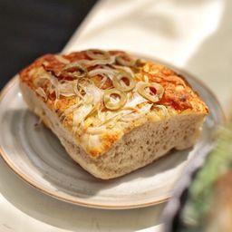 Combo Pizzacaccia y Gaseosa