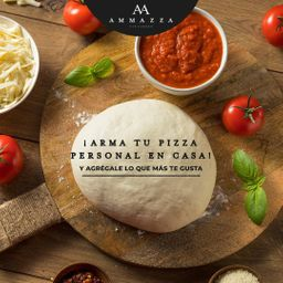 Pizza En Casa Margarita