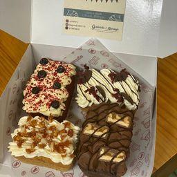 Caja x 4 mini tortas