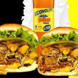 Combo burger arriera