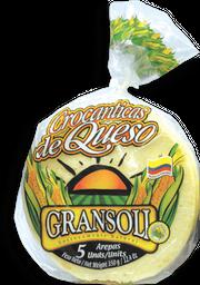 Gransoli Arepas Crocantes de Queso
